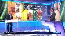 Fruits et légumes : quels sont les prix du marché ?