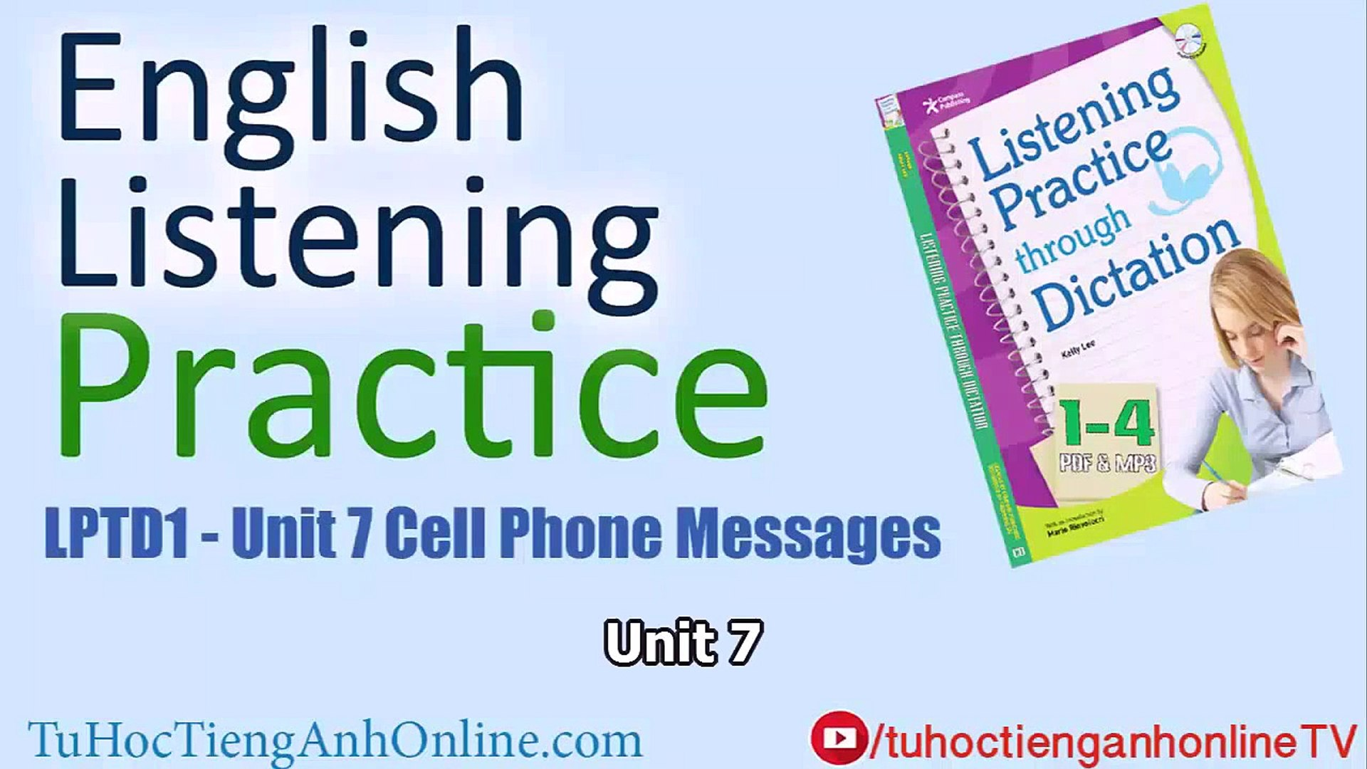 English Listening Practice Unit 7 - Cell Phone Messages