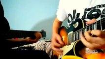 Dual Guitar Solo Jam 3 (Yu-Gi-Oh GX Intro Cover) Epiphone Les Paul Standard  Epiphone Les Paul
