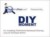 Installing Hardwood Flooring |FindAnyFloor.com | Installing Prefinished Hardwood Flooring