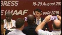 Sebastian Coe, nuevo presidente de la Federación Internacional de Atletismo (IAAF)
