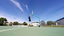 GoPro Hero 4 ( HD ) : Playground BasketBall Slow motion (Dunks + Shots)