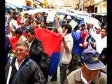 Bolivia / La Paz / Marcha del MAS por Evo Morales presidente