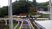 Super Coaster Roller Coaster Front Seat POV Onride Lina World Japan