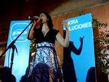 Fiesta FIN de CAMPAÑA - PP MELILLA - Najwa canta Isabel Pantoja...