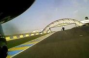 Roulage moto le Mans mca 2 avril 2013 groupe intermédiaire 4ème séance.