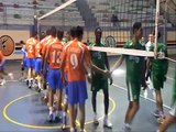 championnat d'algérie de volley ball 2010-2011 olympique de medea vs USMB BLIDA