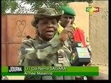 Au nombre des officiers de l'armée malienne sur le front de guerre figure une femme son nom le lieutenant colonel Nema Sagara