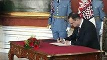 Nově jmenovaný premiér Petr Nečas: Tato země potřebuje stabilní vládu