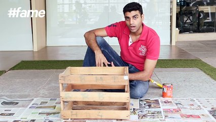 How to Turn a Crate into a Shelf _ #LakmeSchoolofStyle