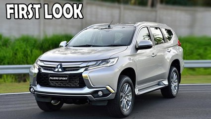 2016 Mitsubishi Pajero Sport | First Look | Upcoming SUV's in India 2016