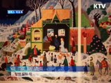 KTV la télévision officielle de la Corée du sud présente Alain Thomas dans son journal télévisé.