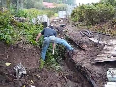 eigen huis aan puin