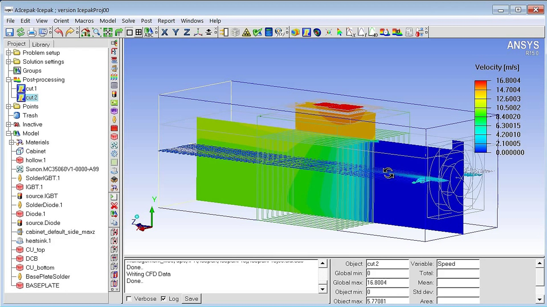 CADFEM Tutorial Nr  19 - Thermal Management mit ANSYS® Icepak ®