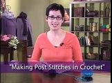 Interweave Crochet: Making Post Stitches in Crochet