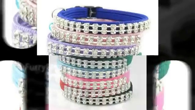 Crystal Dog Collars by FurryFashionista.com