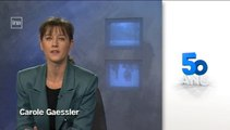 50 ans de TV : Carole Gaessler, journaliste présentatrice pour France 3 Champagne-Ardenne