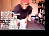 Basic House dance footwork (table tennis pro Wally Green)