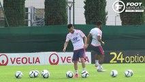 OL : Fournier et l'intégration de Valbuena derrière Fekir et Lacazette