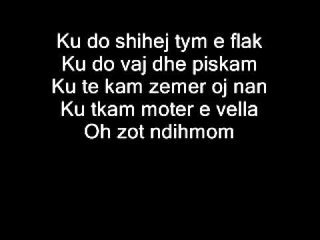 Albulena Ukaj - Me besoni  New 2012 (Me Tekst)