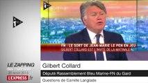 """FN: """"Jean-Marie Le Pen m'emmerde"""" déclare Gilbert Collard - Le Zapping des matinales"""