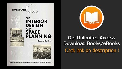 Time Saver Standards For Interior Design And Space Planning 2nd Edition Book Pdf Video Dailymotion