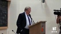 Carlo Rubbia. Lectio Magistralis all'inaugurazione del GSSI. L'Aquila, 14 novembre 2013