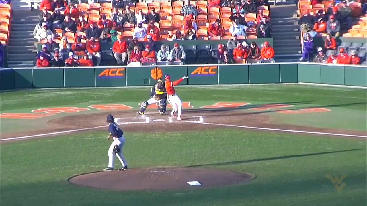 WVU-Clemson Baseball Highlights