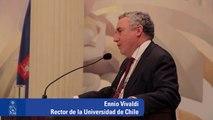 Discurso Rector Ennio Vivaldi en Ceremonia de entrega de Medalla Rectoral a Thomas Piketty