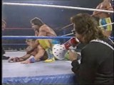 Fabulous Rougeau Brothers vs The Rockers (London Arena, 10.10.89)