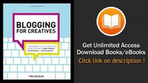 Blogging For Creatives How Designers Artists Crafters And Writers Can Blog To Make Contacts Win Business And Build Success EBOOK (PDF) REVIEW
