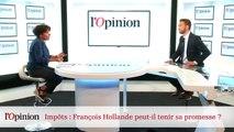 Impôts : François Hollande peut-il tenir sa promesse ?