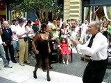 Tango en calle porteña (Buenos Aires, Argentina)