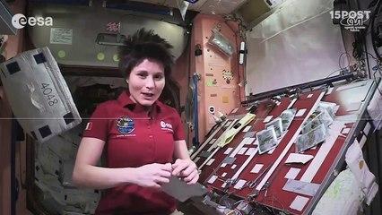 Astronauta nos muestra como preparar tacos en el espacio