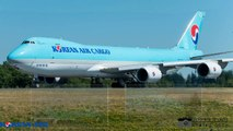 Latest Korean Air Lines Cargo (HL7629) Boeing 747-8F Delivery full from PAE to ICN Korea