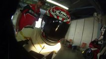 Honda Fireblade CBR 1000RR 2010 Track Day, onboard and chase
