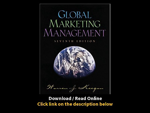 Global Marketing Management EBOOK (PDF) REVIEW