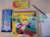 How to color with Oil Pastels - for Kids by a Kid