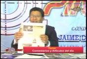 JAIME DEL CASTILLO CRITICA A CESAR HILDEBRANDT POR DECLARACIONES IMPERTINENTES DE 'ENGREIDO'