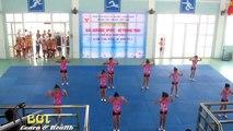 Video thi Aerobics Kids Dance - Những Aerobic mở Championship - Team Babe Workouts