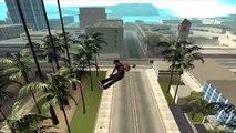 GTA San Andreas (Loquendo) - CJ practica Paracaidismo y saltos extremos