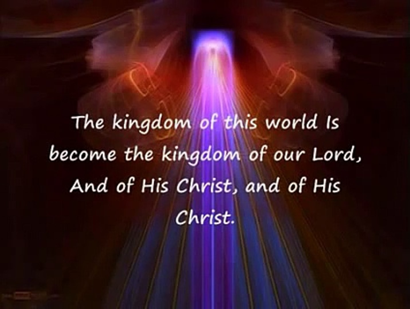 The Hallelujah Chorus Lyrics Handels Messiah