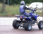 Quad Drift / Drifting mid-day in traffic! - Drifting quadracing quad stunt drift racing
