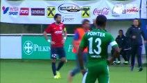 Maccabi Haifa Israel Player Fight with Supporter Pro Palestine