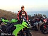 2008 Literbike Shootout: ZX-10R vs CBR1000RR vs GSX-R1000 vs YZF-R1 - Motorcycle Reviews