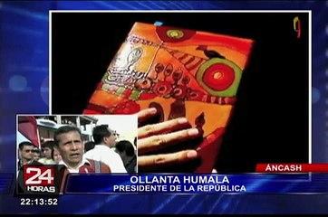 Ollanta Humala defiende a Nadine Heredia y critica a medios de comunicación