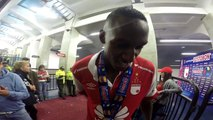 Reacciones Yerry Mina Independiente Santa Fe Campeón Super Liga Postobon 2015