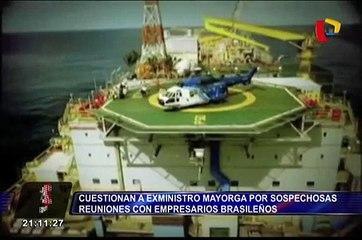 Lava Jato: cuestionan a exministro Mayorga por reuniones con empresarios brasileños