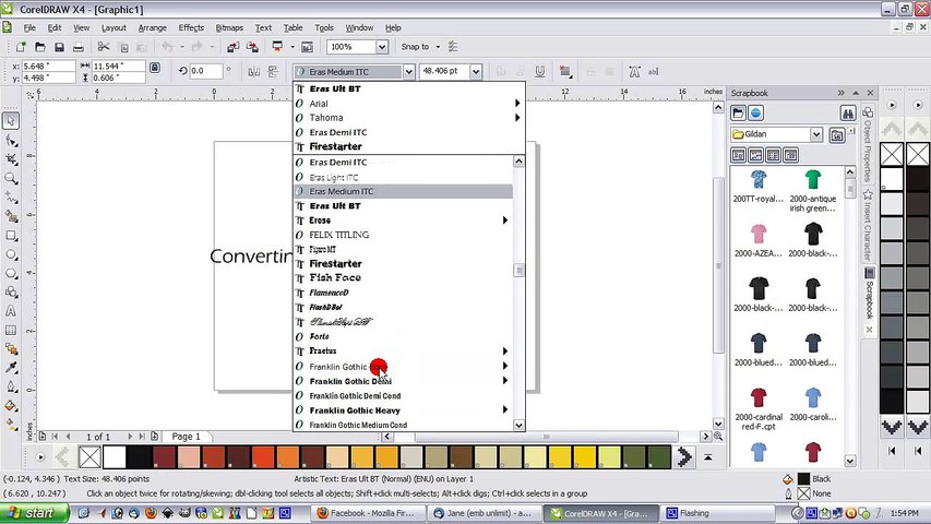 Converting Text to Curves - A Corel Draw How To