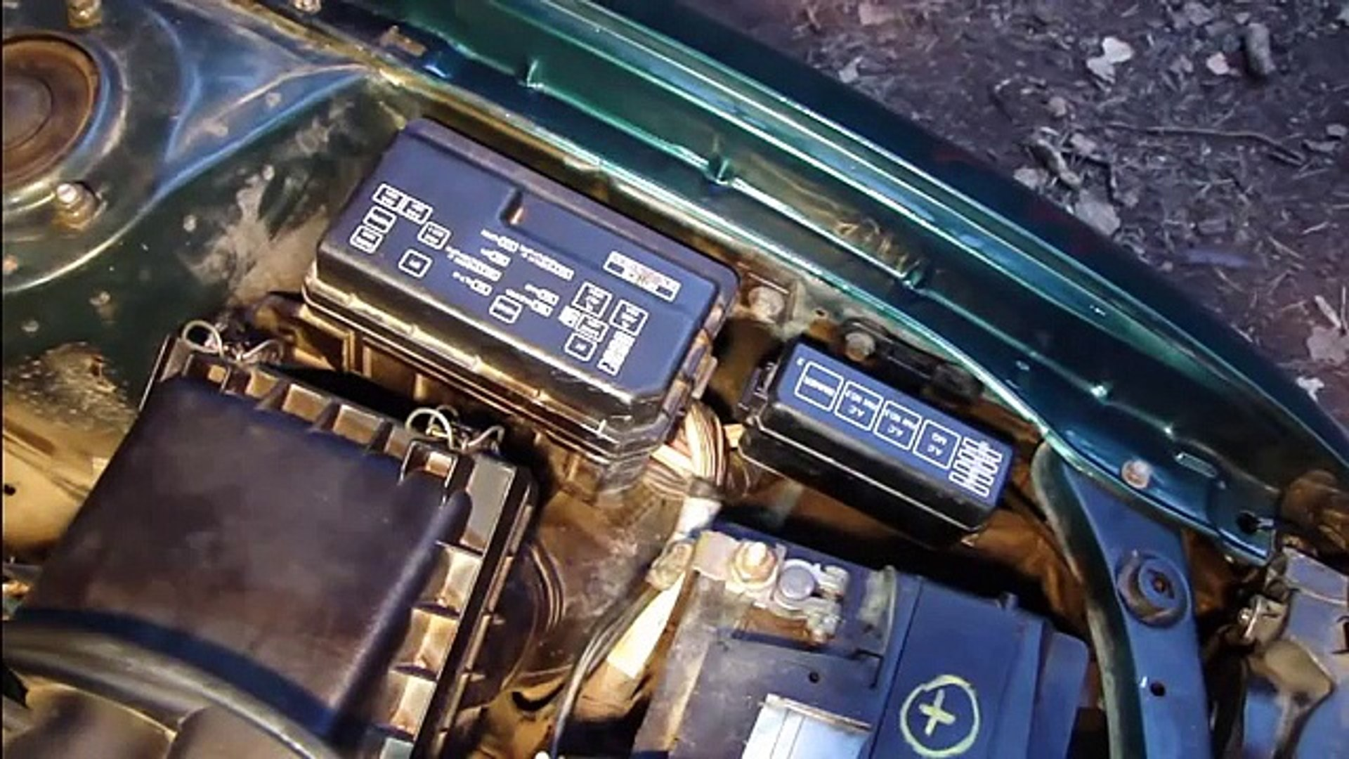 How to replace fuses and fix headlight fuse error Toyota ... Nze Fuse Box on